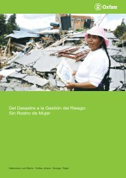 Del Desastre a la Gestión del Riesgo: Sin Rostro ... - Social Resilience