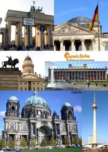 Veja o nosso informativo - Agenda Berlim