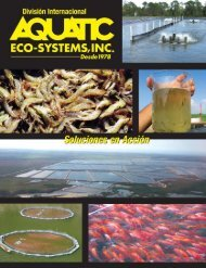 airea ción - Aquatic Eco-Systems
