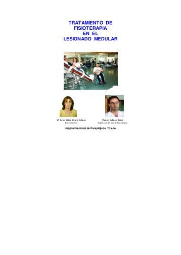 Tratamiento de fisioterapia en el lesionado medular pdf
