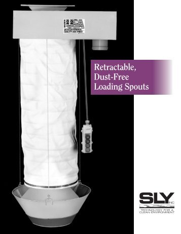Retractable, Dust-Free Loading Spouts - Sly Inc