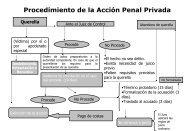 Procedimiento de la Acción Penal Privada Querella