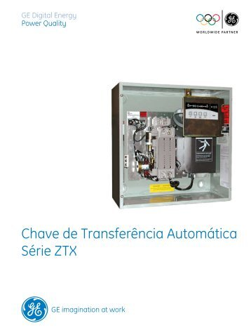 Chave de Transferência Automática Série ZTX - SGE-Engenharia