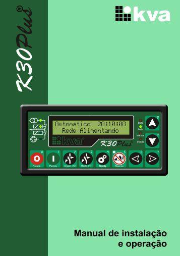 Manual Técnico K30 PLUS - Rg11.com.br