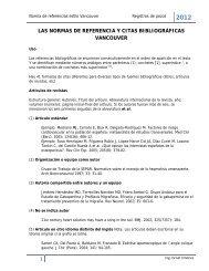 las normas de referencia y citas bibliográficas vancouver - Antonio ...