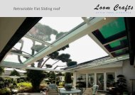 LOOM CRAFTS RETRACTABLE FLAT SLIDING ROOF CATALOG.pub
