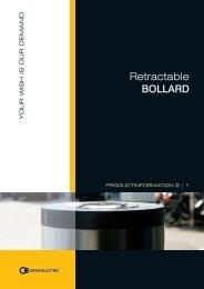 Retractable BOLLARD - GIFAS Electric GmbH