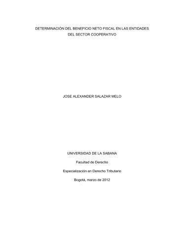 jose alexander salazar melo.pdf - Universidad de La Sabana