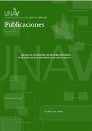 indice de entidades financieras privadas funcionalidad e ... - UNAV