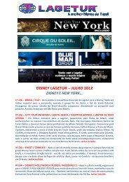 DISNEY LAGETUR – JULHO 2012