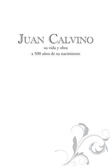 Juan Calvino - Editorial Clie