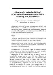 ¿Son iguales todas las Biblias? - El Teólogo Responde