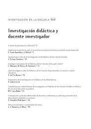 Investigación didáctica y docente investigador - Inicio