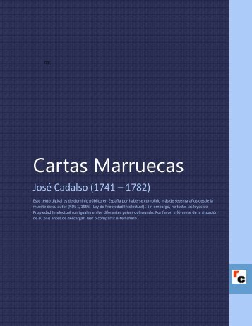 Cartas Marruecas - Descarga Ebooks