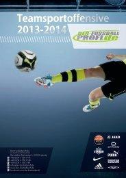 Teamsportoffensive 2013-2014 Der-Fussballprofi.de