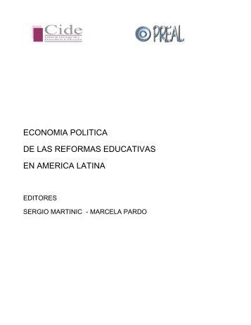economia politica de las reformas educativas en america latina