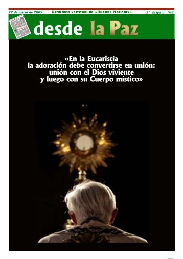 "Semana 28/03/09 - Parroquia ""Santa María Magdalena"""