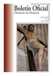 Boletín Oficial del Obispado de Ourense - Abril 2008
