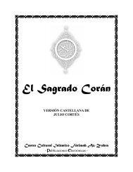 El Sagrado Corán en español (versión Julio ... - Islam El Salvador