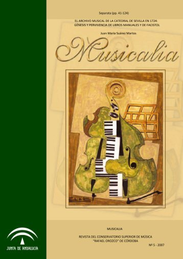 EL ARCHIVO MUSICAL DE LA CATEDRAL DE SEVILLA EN 1724