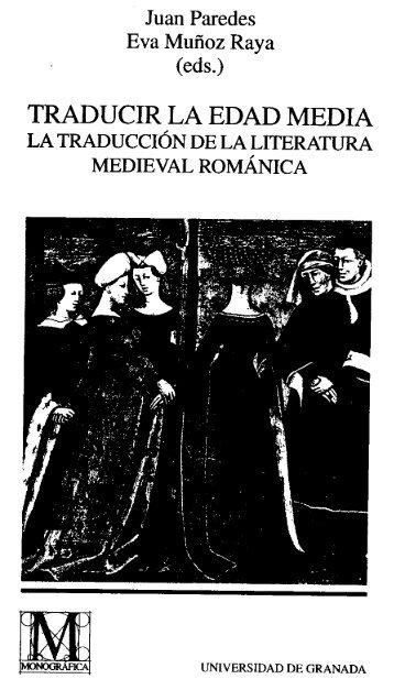 traducir la edad media la traducción de la literatura - Hermeneia