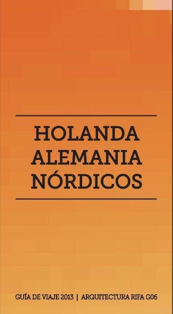 Guía 4: Holanda, Alemania, Nórdicos - Facultad de Arquitectura