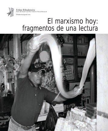 El marxismo hoy: fragmentos de una lectura - Universidad San ...