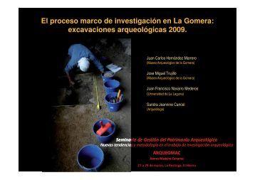 El proceso marco de investigación en La Gomera - Salto del Pastor ...
