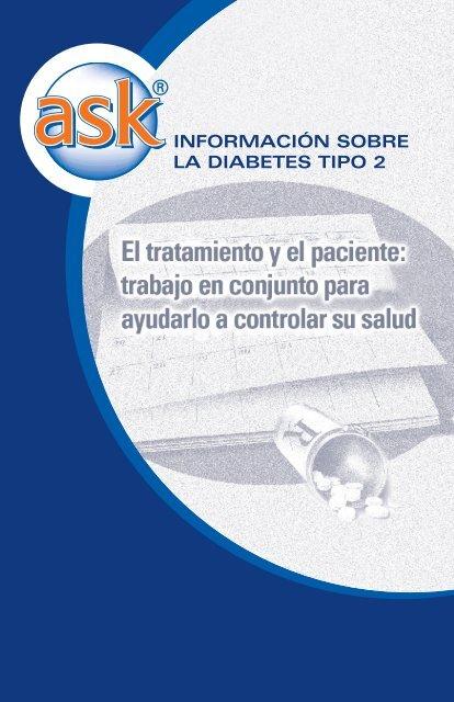 información sobre diabetes.