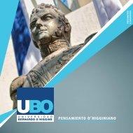 PENSAMIENTO O'HIGGINIANO - Universidad Bernardo O'Higgins