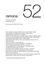 julio de 2005 - Ramona