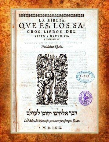 La Biblia Reina-Valera 1909 - Iglesia Cristiana Gnóstica Litelantes y ...