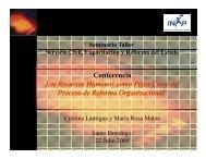 Conferencia ¨Los Recursos Humanos como Pieza Clave del ...