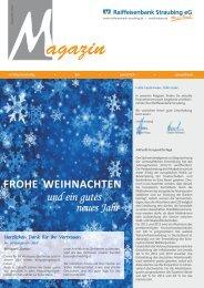 Newsletter 12_12.cdr - Raiffeisenbank Straubing eG