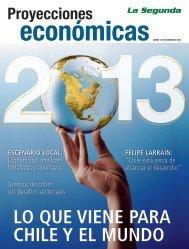 Proyecciones Económicas 2013 - La Segunda