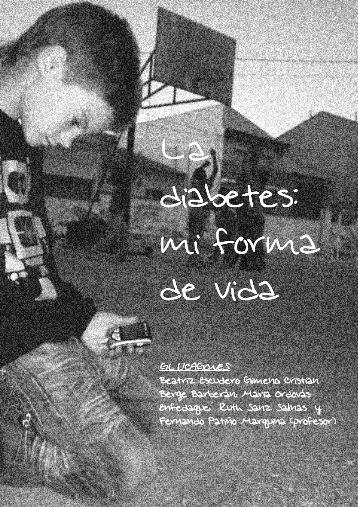 La diabetes: mi forma de vida