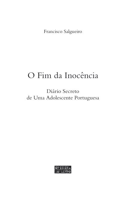 O Fim da Inocência - PDF Leya
