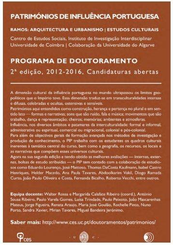PIP2 síntese - Faculdade de Ciências Humanas e Sociais ...