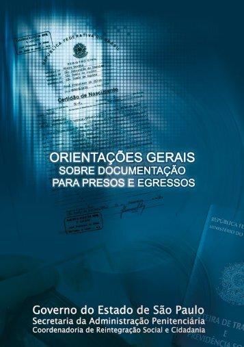 Guia de Orientações Gerais Sobre Documentação - Coordenadoria ...