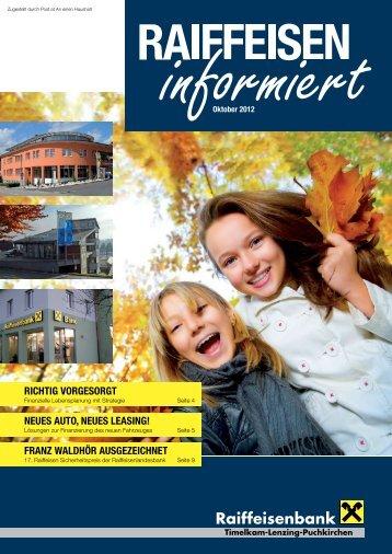 Ausgabe Oktober 2012 - Oberösterreich