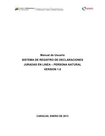 Manual de usuario - Superintendencia de la Actividad Aseguradora