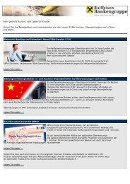 Cash Management-Newsletter, November 2011 (pdf)