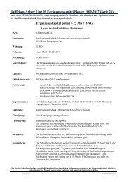 Raiffeisen-Anlage Linz 09 Ergänzungskapital Floater 2009-2017 ...