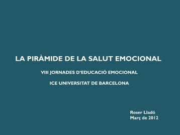 Presentación de PowerPoint - Jornades d'Educació Emocional