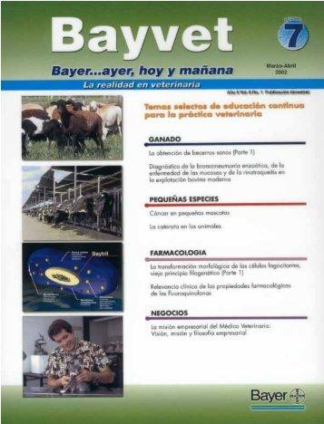 Revista Bayvet No. 7 - Bayer Sanidad Animal México