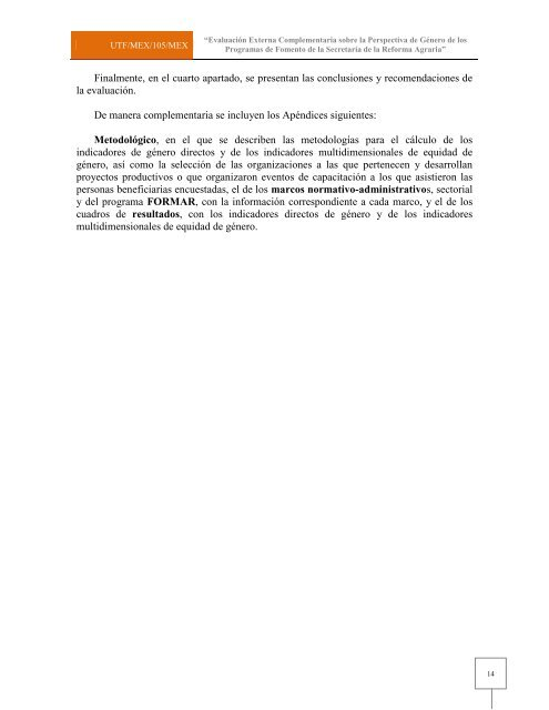 Programa de Fomento al Desarrollo Agrario (FORMAR)