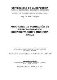 Rehabilitación y Medicina Física - Egradu.hc.edu.uy - Hospital de ...