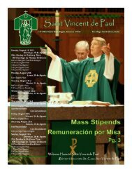 Bulletin 8-19 - Saint Vincent de Paul Catholic Community