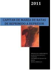 capitan de marea de ratas de reprimido a represor - Universidad ...