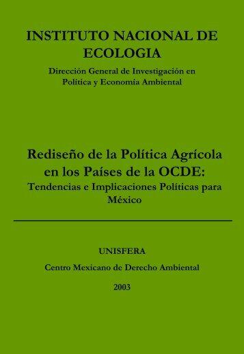 Rediseño de la Política Agrícola en los Países de la OCDE - Instituto ...